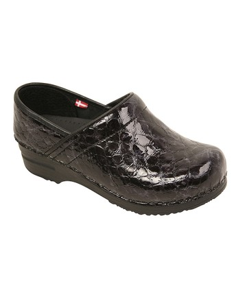 Black Professional Gretel Clog - Women