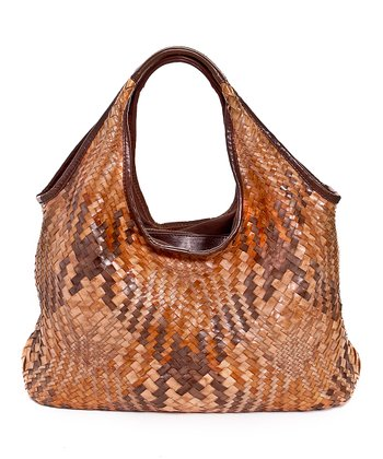 Terra Woven Kelly Medium Tote