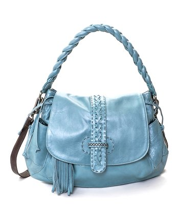 Baby Blue Olivia Shoulder Bag