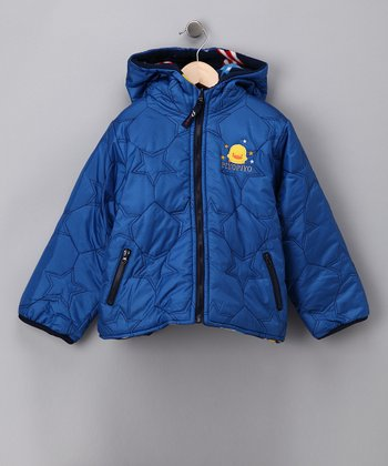 Blue Star Reversible Jacket - Toddler