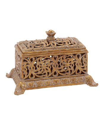 Ornate Polystone Box