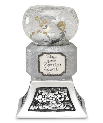 Dream Hope Laugh Tealight Candleholder