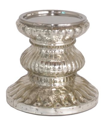 Mercury Glass Stand Candleholder