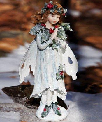 Holly Standing Fairy Garden Figurine