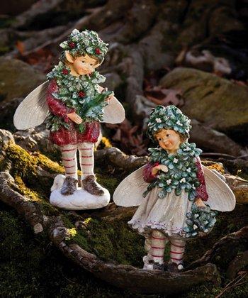 Woodland Fairy Figurine Set