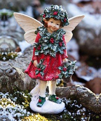 Ivy Girl Fairy Figurine
