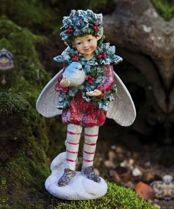Ivy Boy Fairy Figurine