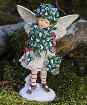 Holiday Shimmer Fairy Figurine