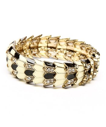 Gold Meshi Stretch Bracelet