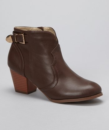 Brown Art-02 Bootie