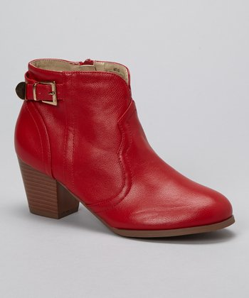 Red Art-02 Bootie