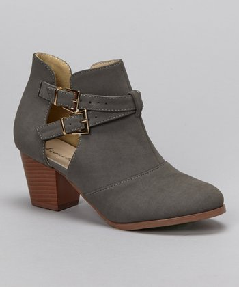 Gray Art-03 Bootie
