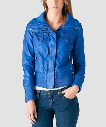 Royal Blue Jacket - Women