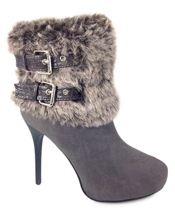 Gray Keyson Ankle Boot