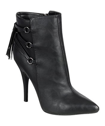 Black Lonestar Ankle Boot