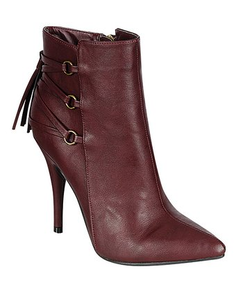 Bordeaux Lonestar Ankle Boot