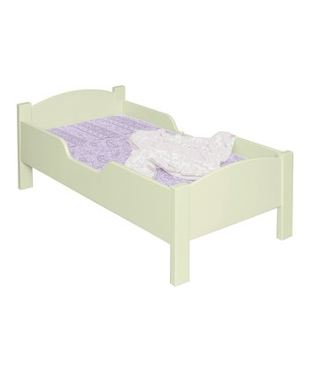 Pastel Green Toddler Bed