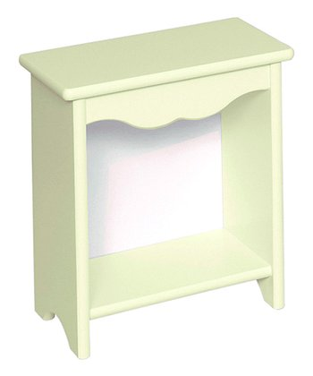 Pastel Green Toddler Bedside Stand
