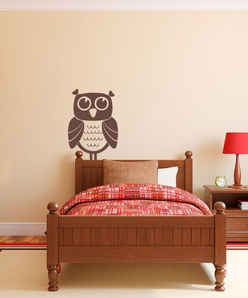 Brown Owl Time Wall Decal