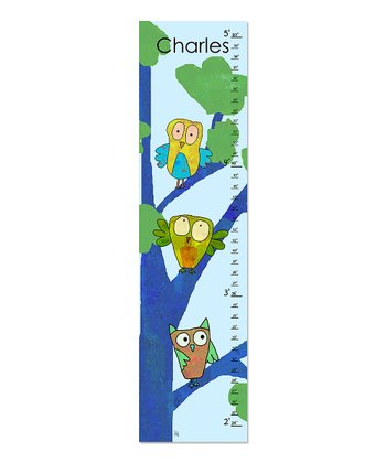 Blue Owls Personalized Growth Chart