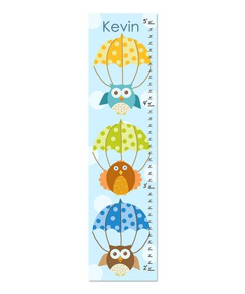 Flying Owls Personalized Growth Chart