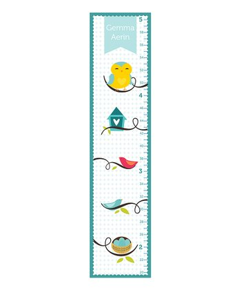 Blue Owl & Branch Personalized Growth Chart