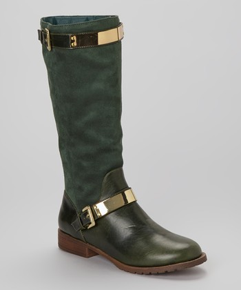 Green Banded Philip Boot
