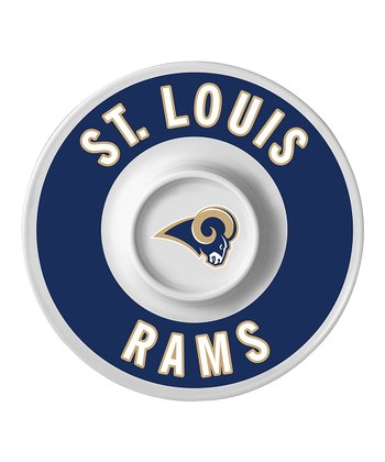 St. Louis Rams Dip Serving Tray