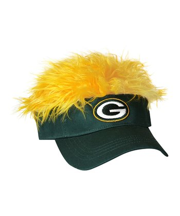 Green Packers Flair Hair Visor