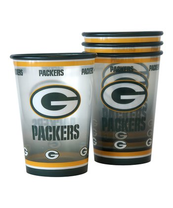 Green Bay Packers Tailgating Cup - Set of Four