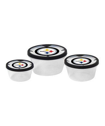 Pittsburgh Steelers Three-Piece Container Set