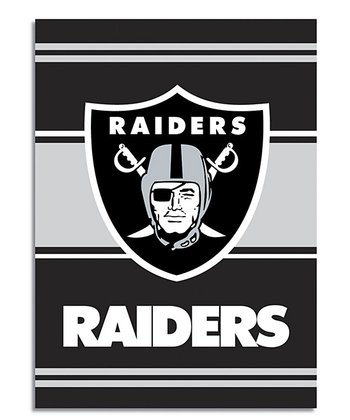 Oakland Raiders Banner & Pole Sleeve