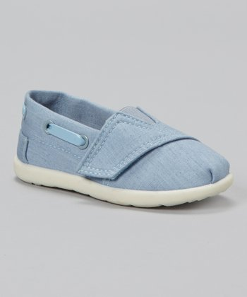 Jean Blue Slip-On Shoe