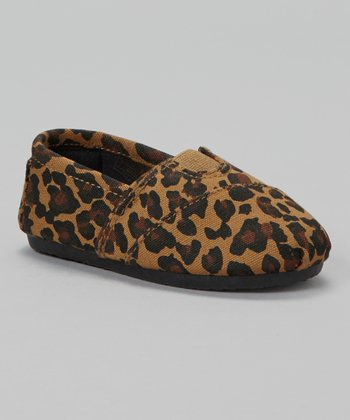 Leopard Wrapped Panel Slip-On Shoe