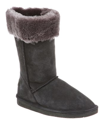 Charcoal Marissa Suede Boot - Women
