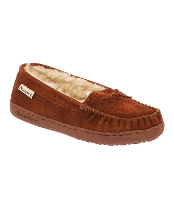 Hickory Suede Brigetta Moccasin - Women