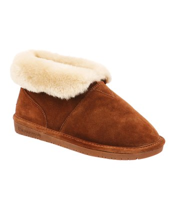 Hickory Tristen Fold-Over Suede Slipper - Women