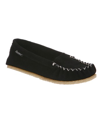 Black Suede Hanna Moccasin - Women