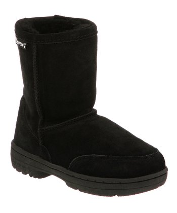 Black Suede Meadow Boot - Toddler