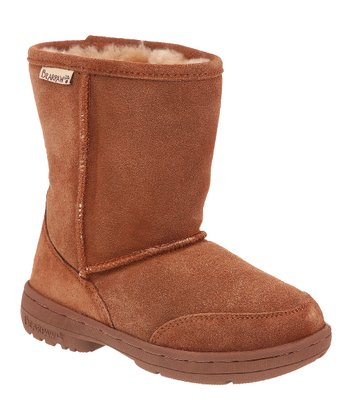 Hickory & Champagne Meadow Boot - Toddler