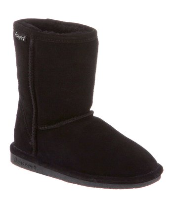 Black Suede Emma Boot - Toddler