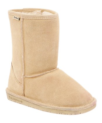 Camel Suede Emma Short Boot - Women