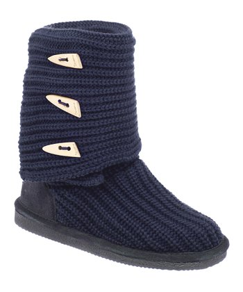 Indigo Knit Tall Boot - Women