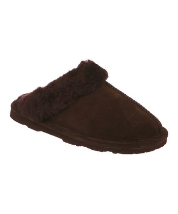 Chocolate Suede Loki II Slipper - Women