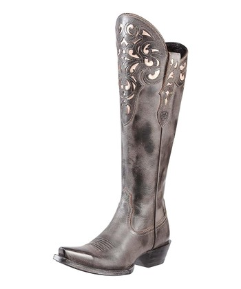 Old West Black Hacienda Boot  - Women