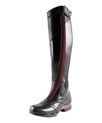 Red Volant Boot - Women