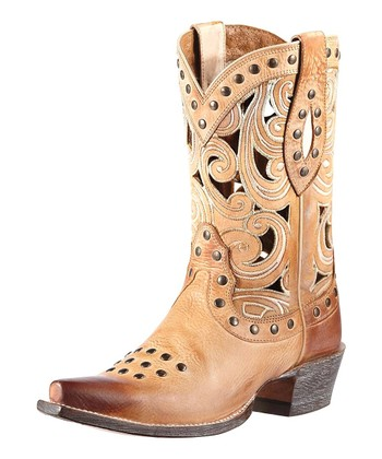 Oak Barrel Leather Paloma Boot - Women