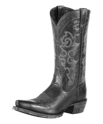 Pitch Black Alabama Boot - Women