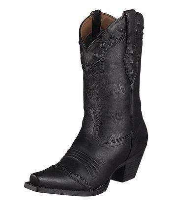 Black Dixie Boot - Women