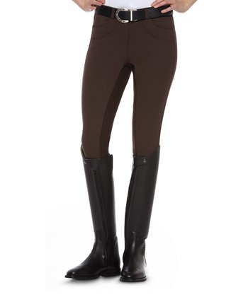 Breech Truffle Olympia Full Seat Riding Pants - Women